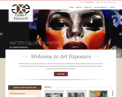 Gallery Exposure